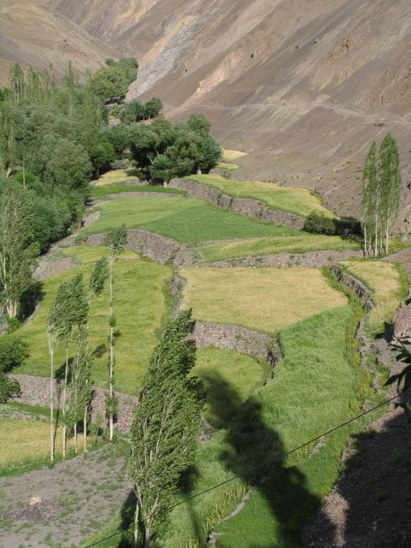 Paysage au Pérou