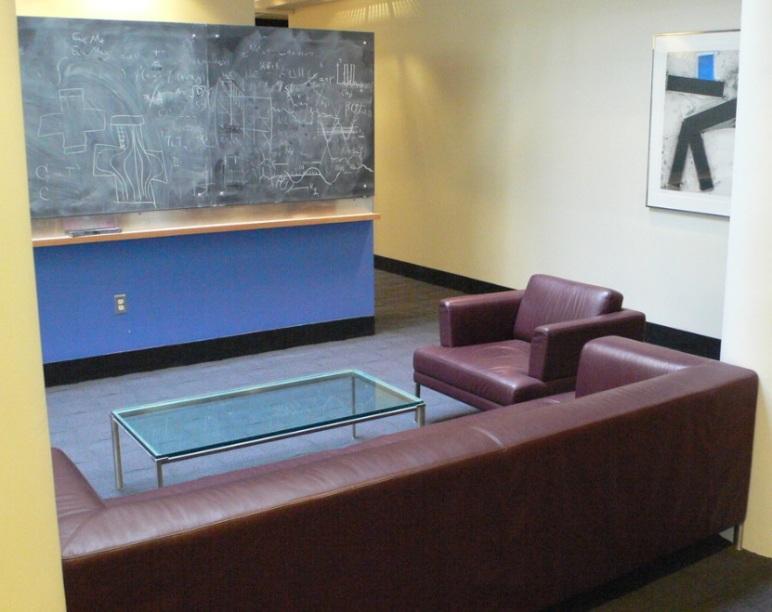 Espace de travail au MIT, Boston